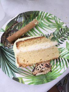 heerlijke biscuit gevuld met mascarpone thema safari