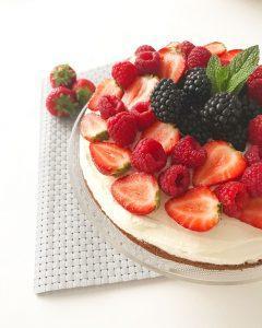 Fruittaart @Foodriehartjes