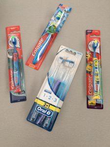 Tandenborstels Action shoplog - Lievelyne