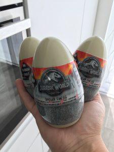 Jurassic World slijm eieren - Action shoplog