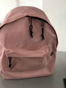 Roze rugzak Action shoplog - Lievelyne