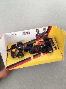 Formule 1 auto miniatuur - Action shoplog Lievelyne