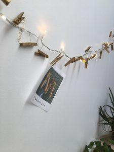 Lichtslinger met knijpers op batterijen - Action shoplog Lievelyne