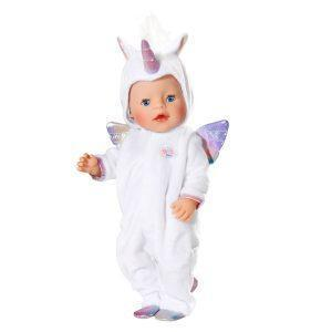 Babyborn unicorn onesie