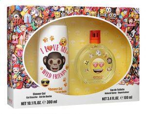 Emoji showergel en parfum