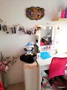 Ikea shoplog -kleine meisjeskamer gezellig maken
