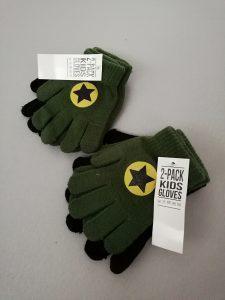 Handschoentjes Action shoplog