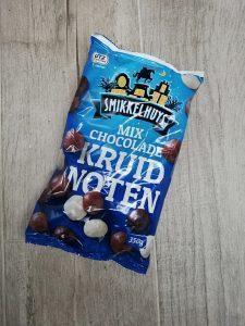 Kruidnoten met chocolade Action shoplog
