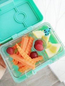Yumbox mini snack inspiratie - LIEVELYNE