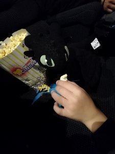 Tandloos draak at the movies