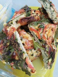 groene groenten omelet - Recept LIEVELYNE