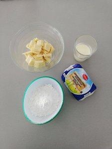 Heerlijke botercrème van witte chocolade - LIEVELYNE