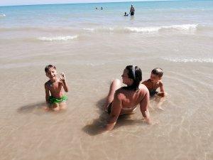 Lido Nettuno strand van Porto Empedocle Sicilië - Lipoedeem