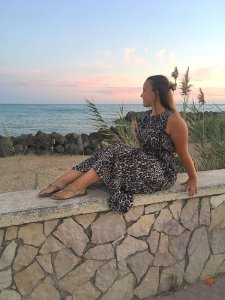 Leopard maxi dress - Kleding shoplog - LIEVELYNE