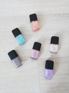 Kiko Milano nagellak in verschillende kleurtjes