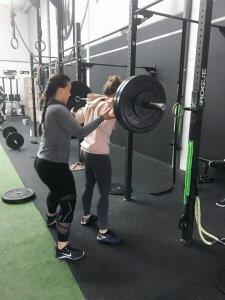 Crossfit friendships and hard work