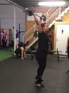 CrossFit open @ Darkrow beginner CrossFit ervaring - Lievelyne
